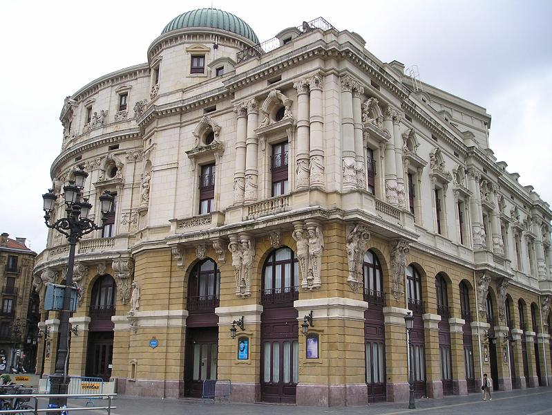 Plataforma de Teatro Arriaga (Bilbao).